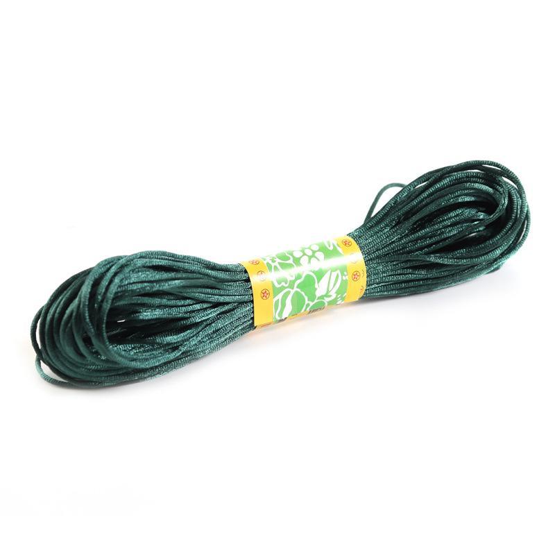 20 متر 1.5 ملليمتر مزيج اللون النايلون الأسود الرثايا الحرير الصينية knotting الحرير macrame الحبل الديكور مضفر shamballa سلسلة موضوع المجوهرات 1186 Q2