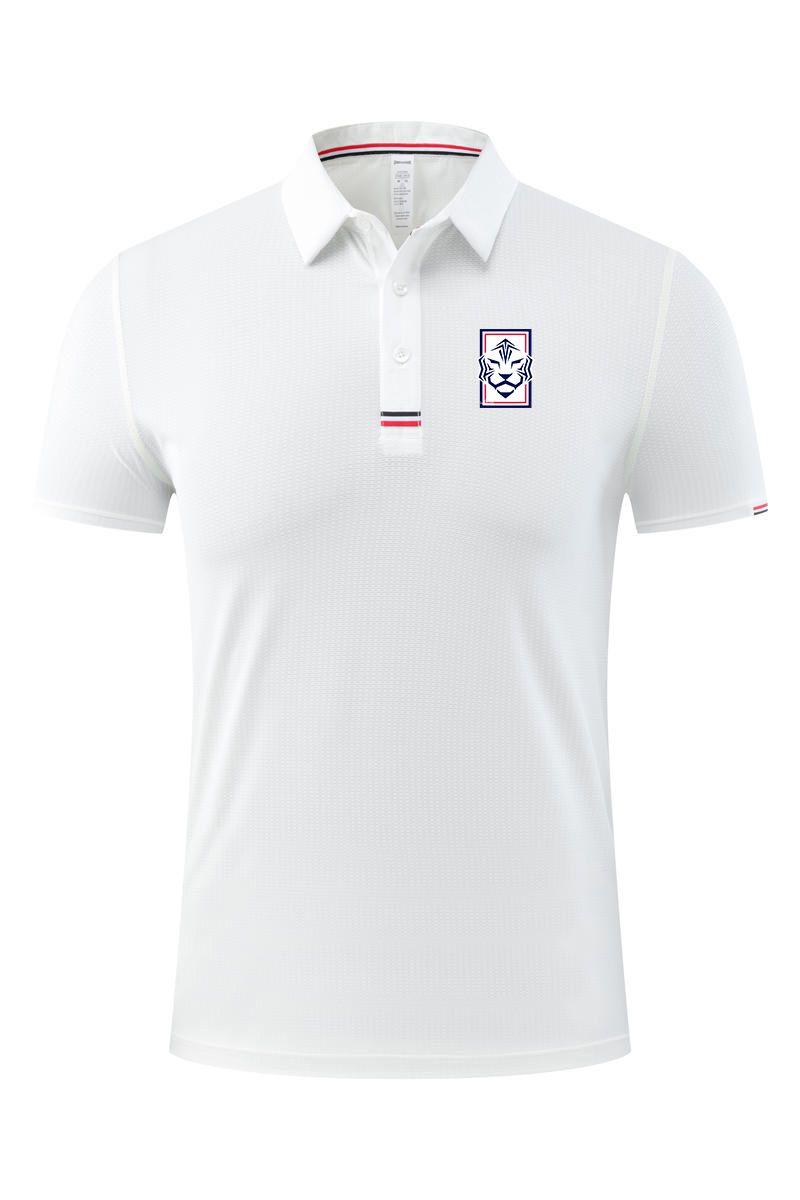 كوريا الجنوبية الرجال بولو الصيف تصميم الأزياء الناعمة مريحة سريع الجافة الكبار لكرة القدم تي شيرت ملابس رياضية قصيرة