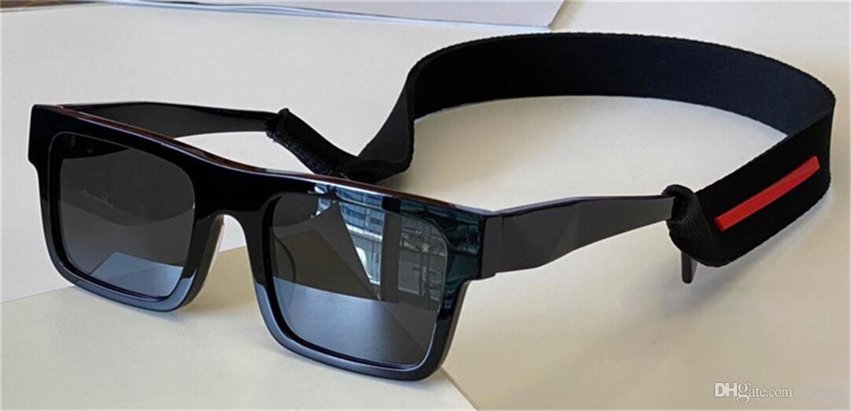 패션 디자인 선글라스 19WF 사각형 프레임 젊은 스포츠 스타일 간단하고 다재다능한 야외 UV400 보호 안경 최고 품질