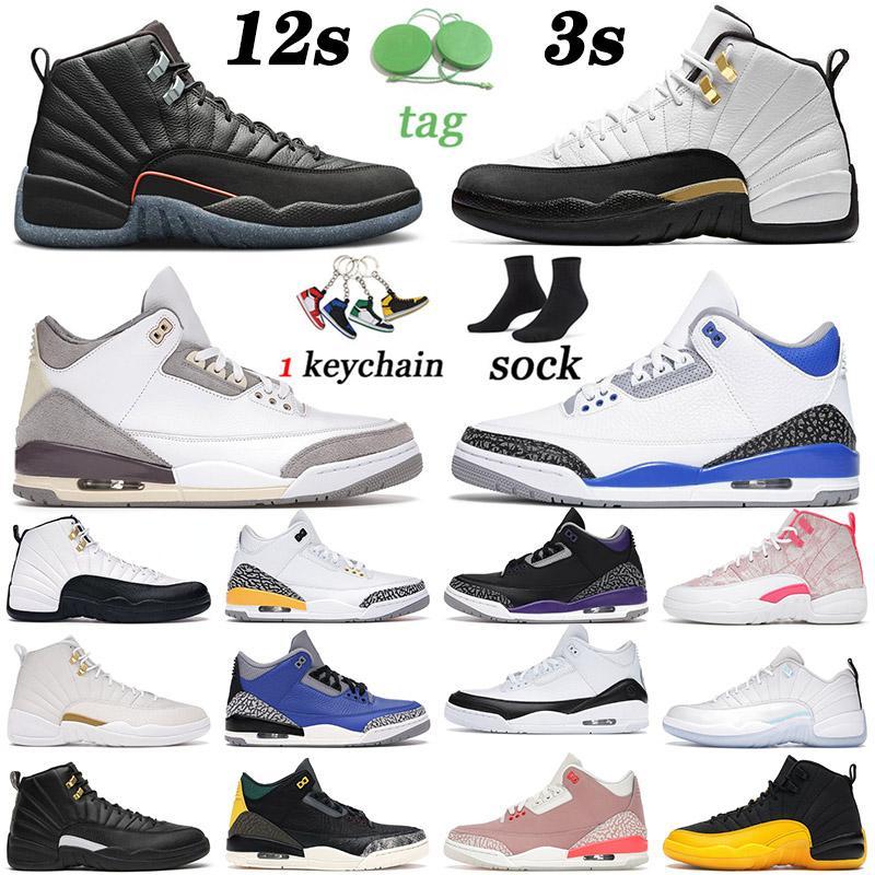 nike air jordan rertro 3 12 2021 Varış Basketbol Ayakkabıları Utility Mens Womens Jumpman Fragment Yükseltilmiş Mavi Çimento Knicks Rakipler Eğitmenler Spor Ayakkabıları Spor