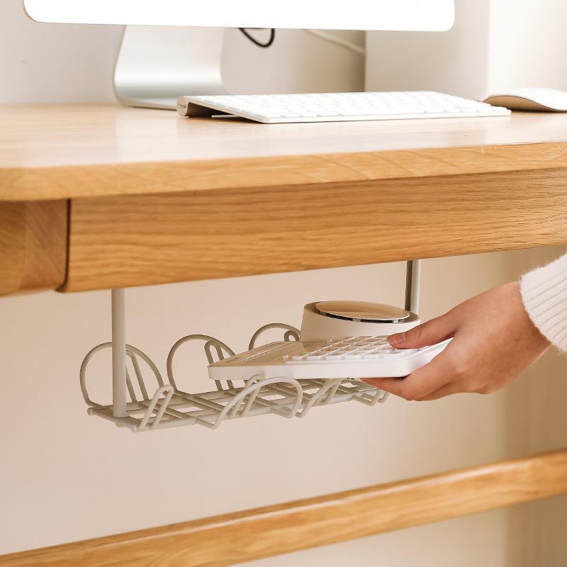 책상 케이블 관리 트레이 스토리지 주최자 와이어 코드 전원 충전기 플러그 450 v2
