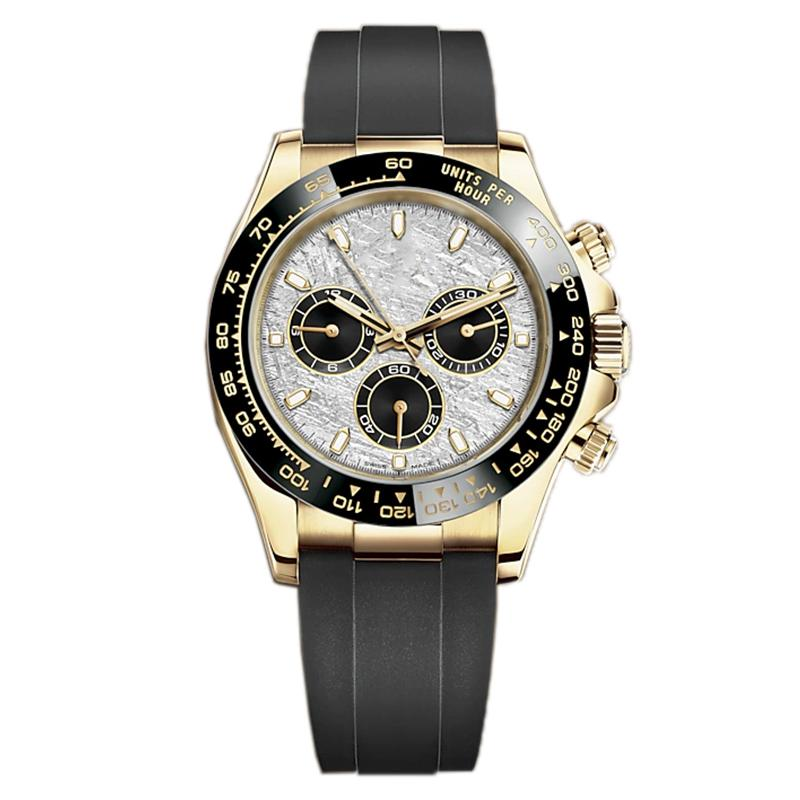 Mens Automatic Mechanical Watches With Box,U1 Factory 41MM Full stainless steel Three Eyes Sapphire Waterproof luxury wristwatches Luxusuhr