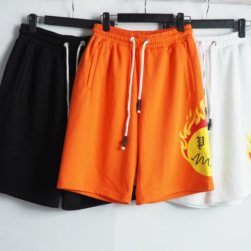 21SS 디자이너 반바지 높은 거리 짧은 바지 남성 여성 여름 스포츠 스웨트 힙합 Streetwear Mens 의류 크기 : S-XL