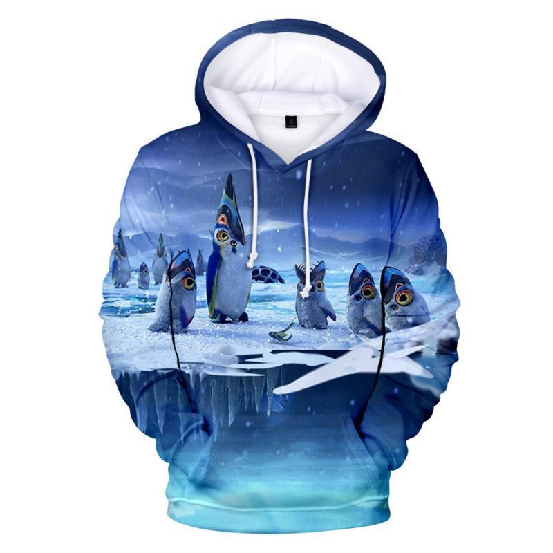 Men's Hoodies & Sweatshirts Anime Clothing Subnautica Below Zero 3D Print Fashion Boys/girls Sportswear Kawaii Tops Women/Men Hooded Kids