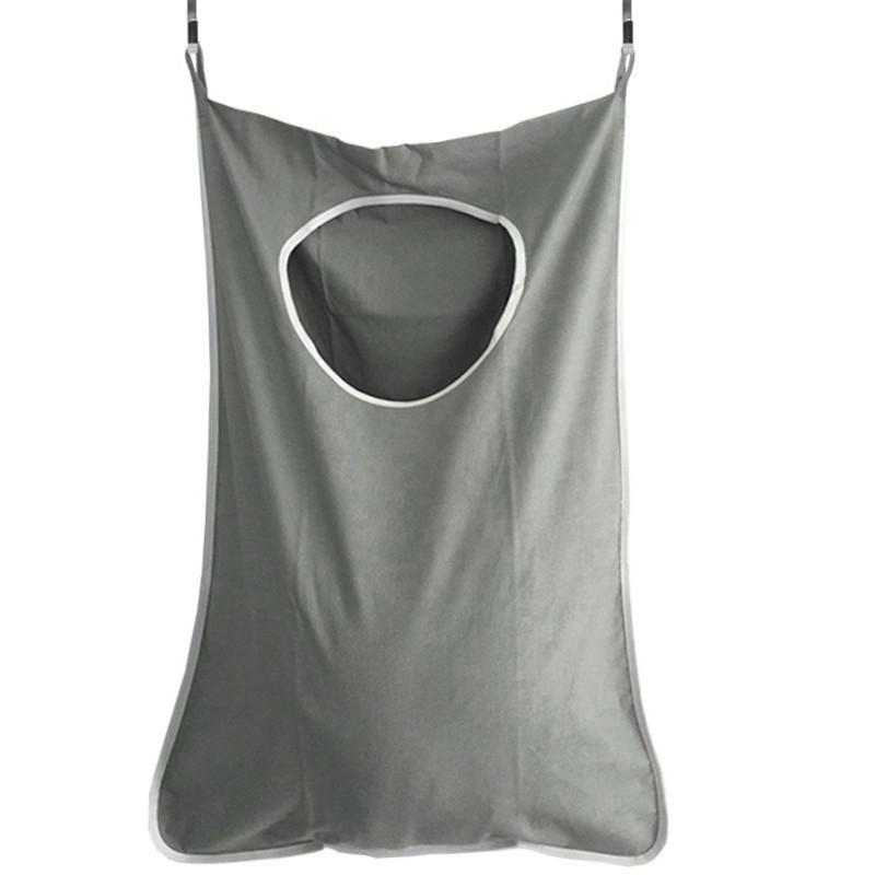 Большая емкости настенные двери висит мешок для хранения карман для грязной одежды Оксфорд домашний ванной организатор сумки с крючками ящики BINS