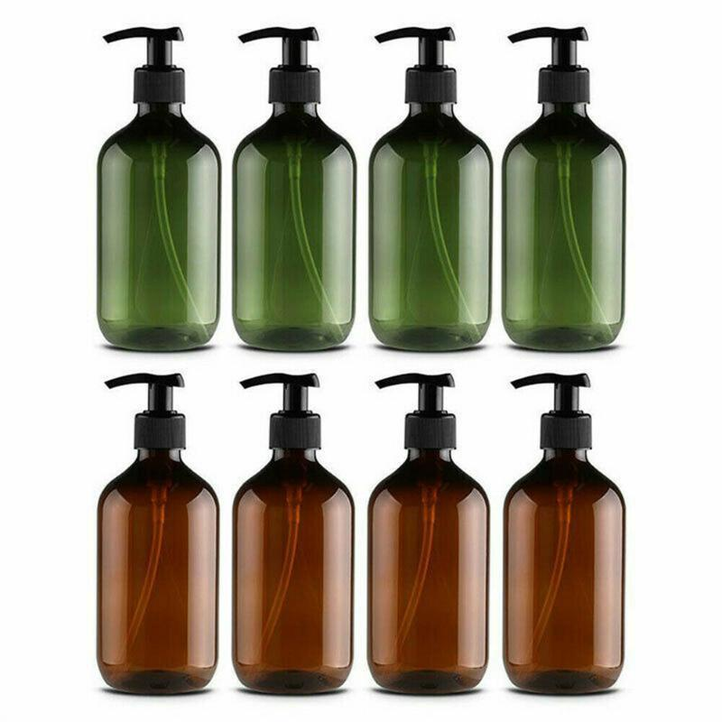 Storage Bottles & Jars 1/2 Pcs 300/500ml Empty Pump Lotion Shampoo Liquid Container For Home Travel Skin Care Tool Refillable TK-ing