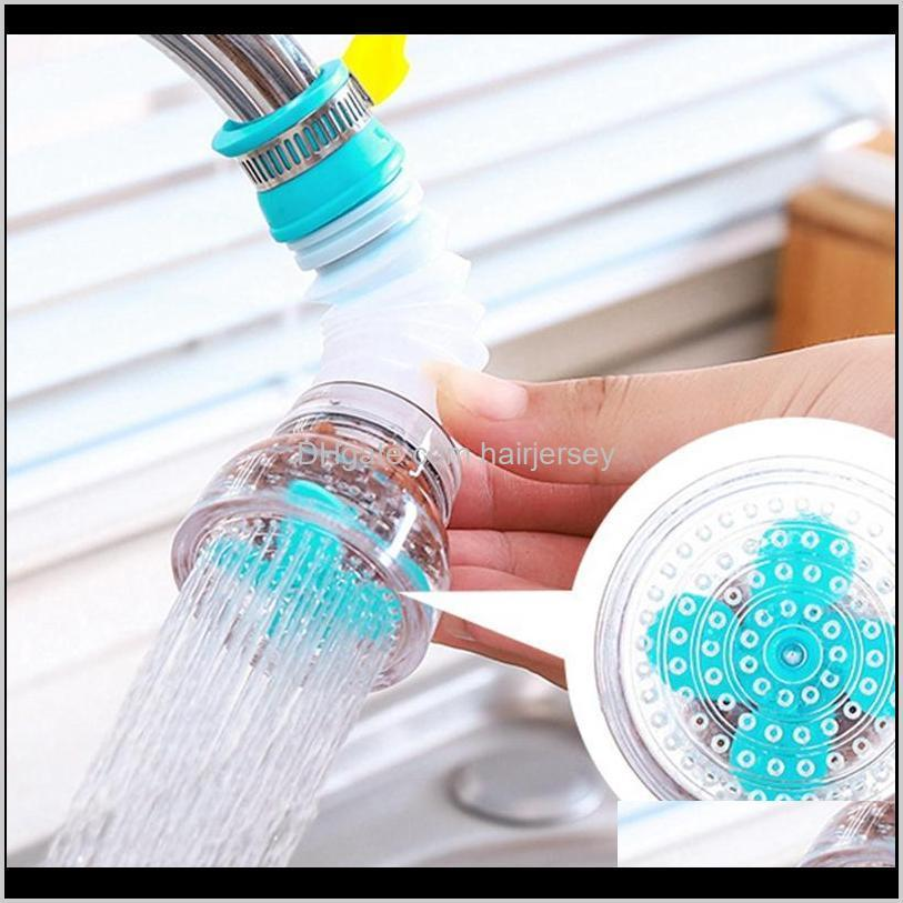 Faucets Home Kitchen Accessories 360 Degree Adjustable Water Tap Extension Filter Shower Bathroom Faucet Extender 81Qss Dbxku