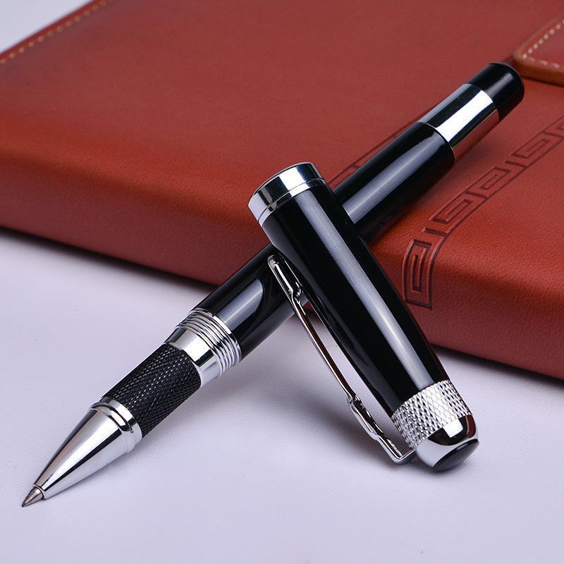 Pluma Black Monte Monte Roller con relleno de la oficina de la escuela Suministros de la oficina Balón de alta calidad para los bolígrafos del regalo de la empresa