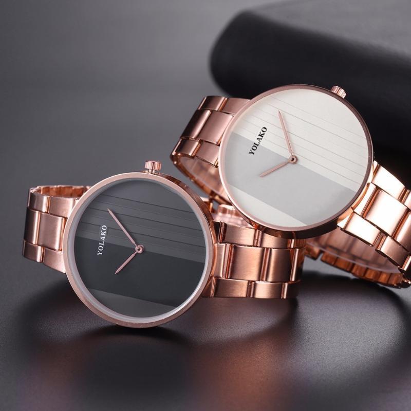 Relogio feminino mulheres relógios simples moda mulheres rosa ouro relógio de pulso luxo senhoras pulseira relógio relógio de pulso
