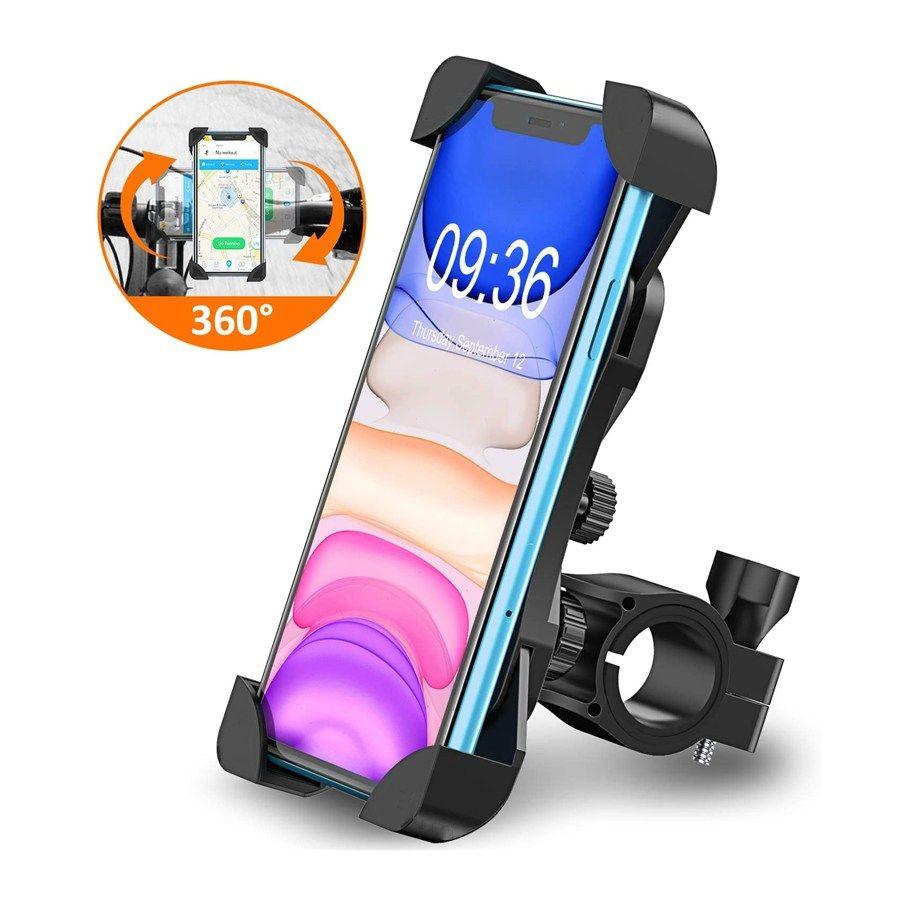 Lkw-Racks Fahrrad Telefonhalter Fahrrad Mobiler Mobiltelefonhalter Motorrad Supporte-Celular für iPhone Samsung Xiaomi