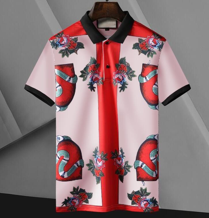 남성 여성을위한 클래식 디자이너 망 폴로 셔츠 패션 디자인 폴로스 하이 스트리트 티셔츠 여름 캐주얼 탑스 의류