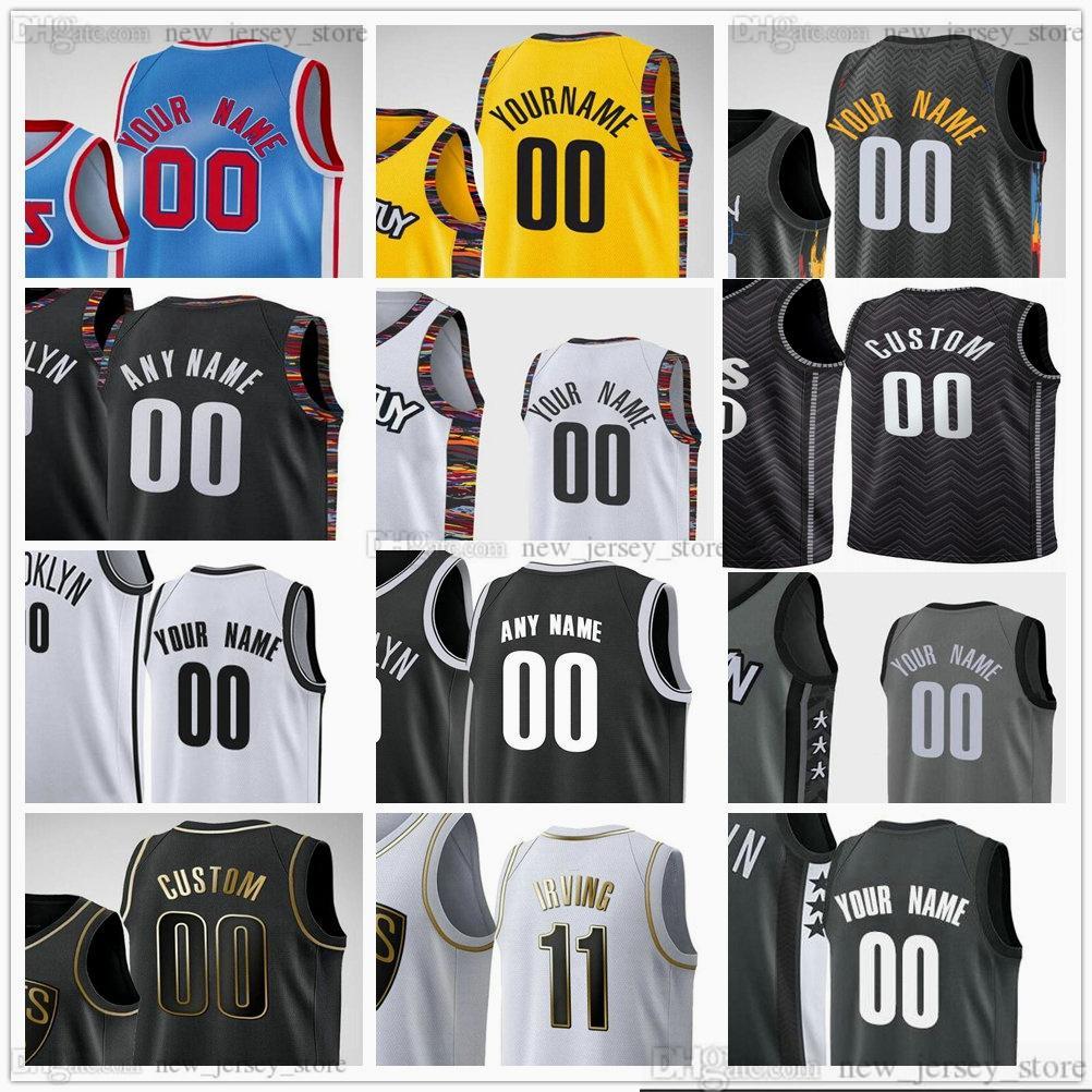 Пользовательские печатные марки для баскетбола 7 Кевин 13 Заготовка Durant 11 Kyrie 2 Blake Irving Griffin 21 Lamarcus 26 Spencer Aldridge Dinwiddie Jersey