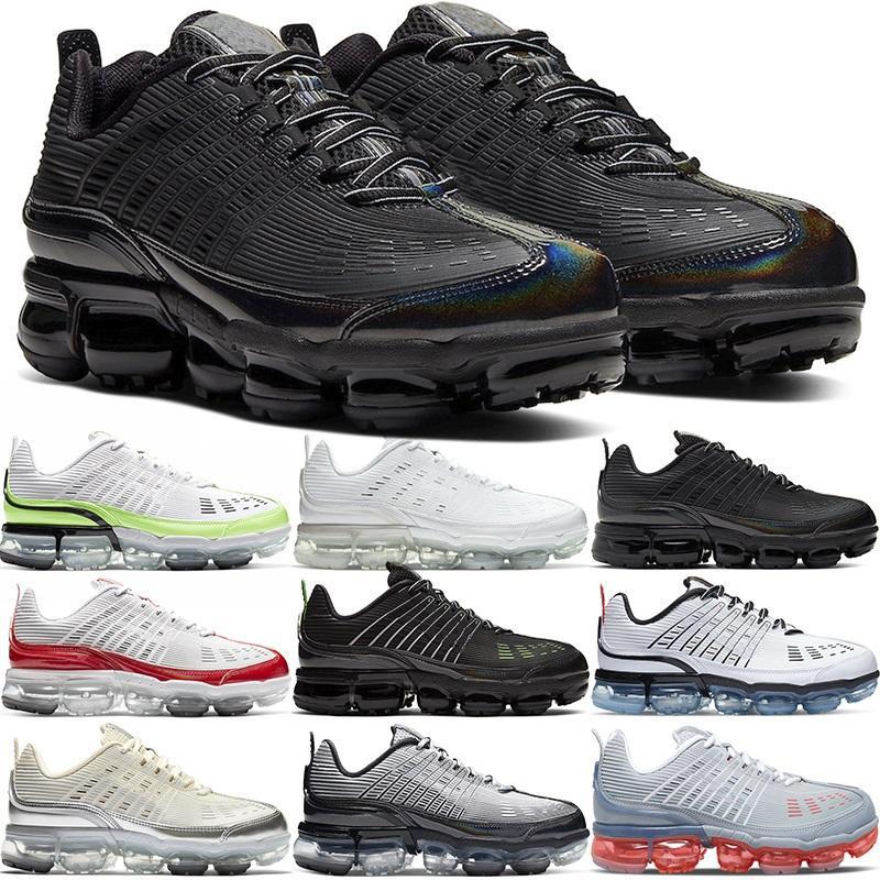 En 360 Artı Koşu Ayakkabıları Erkekler Kadınlar Büyük Boy Üçlü Beyaz Siyah Gri Üniversitesi Kırmızı Hız Sarı Erkek Sneakers Spor