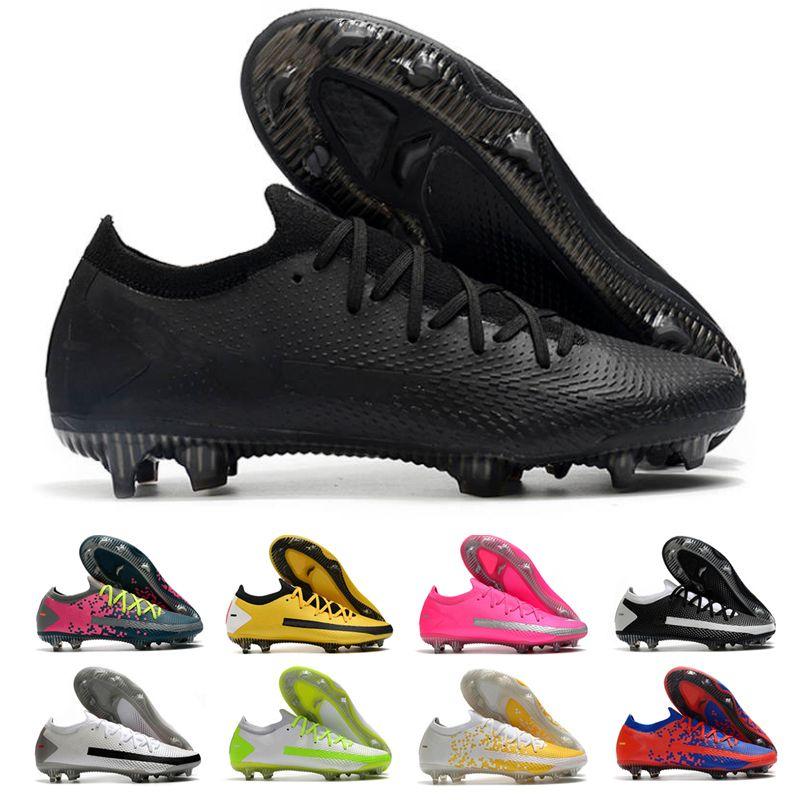 2021 Top Quality Men Phantom GT Elite Dynamic FG Soccer Shoes Mercurial Superfly Fit CR7 Football Boots Crimson Ronaldo Neymar Scorpion ACC Cleats