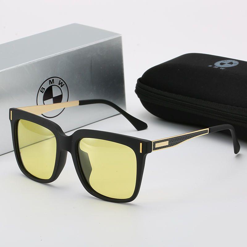 BMW Güneş Gözlüğü Sürüş Güneş Gözlüğü Sürücü Gözlük Sürüş Balıkçılık Yuvarlak Yüz Net Kırmızı Gözlük erkek Trend Çok Fonksiyonlu Trendzb