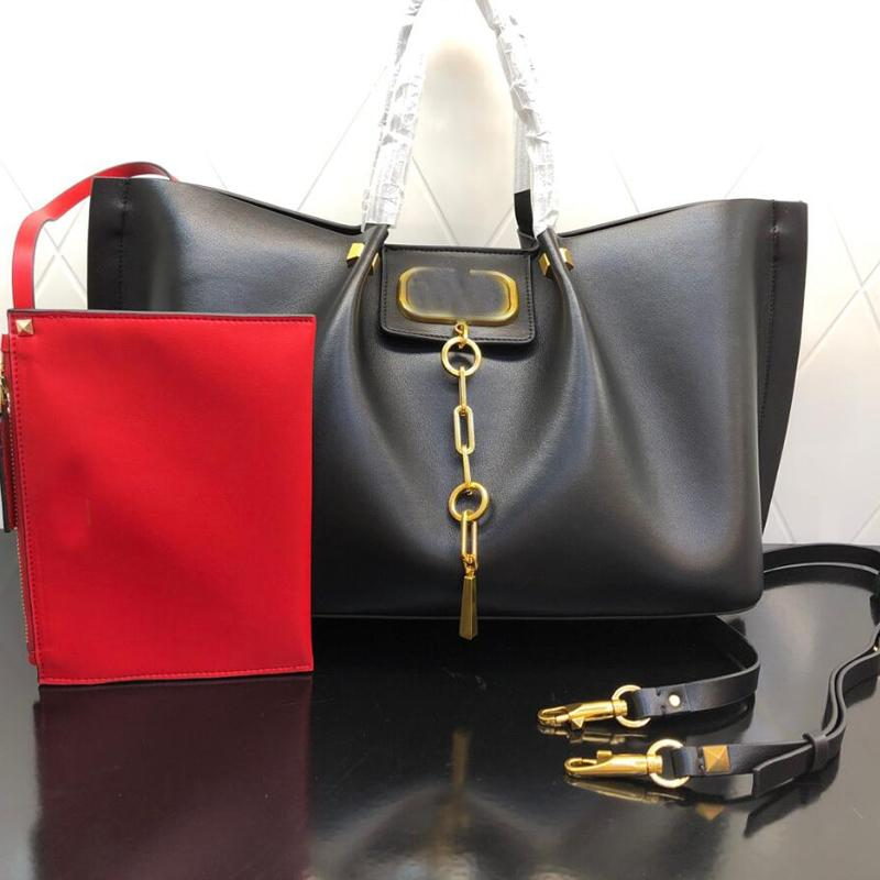 Large Capacity Shopper Bags Lady Tote Women Handbag Purse Fashion letter Genuine Leather Shoulder Bag Wallets High Quality Hardware Removable Strap Two Size