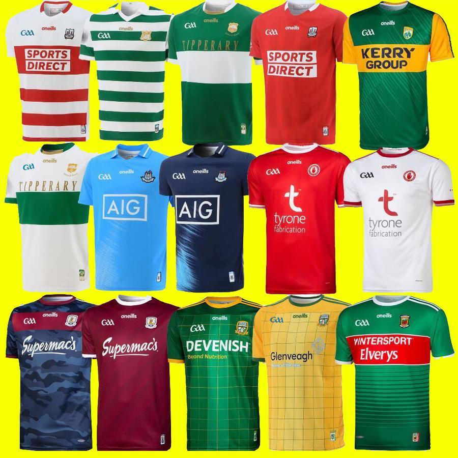 2021 Dublín Gaa Home Jersey 21 22 ostra camisa de cliatón David Treacy Tom Connolly Tamaño S-5XL