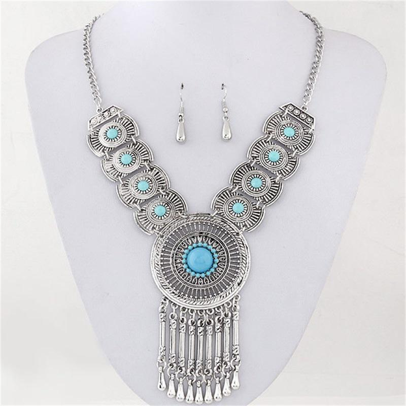 Set di gioielli Set di gioielli con collana a ciondolo per cerchio nuziale per donna per le donne WMTCUG