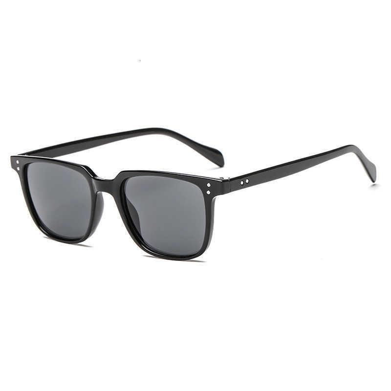 Luxury designer Sunglasses Small Box Female Trendy Retro Korean Male Round Face Net Red Plain Thin Glasses