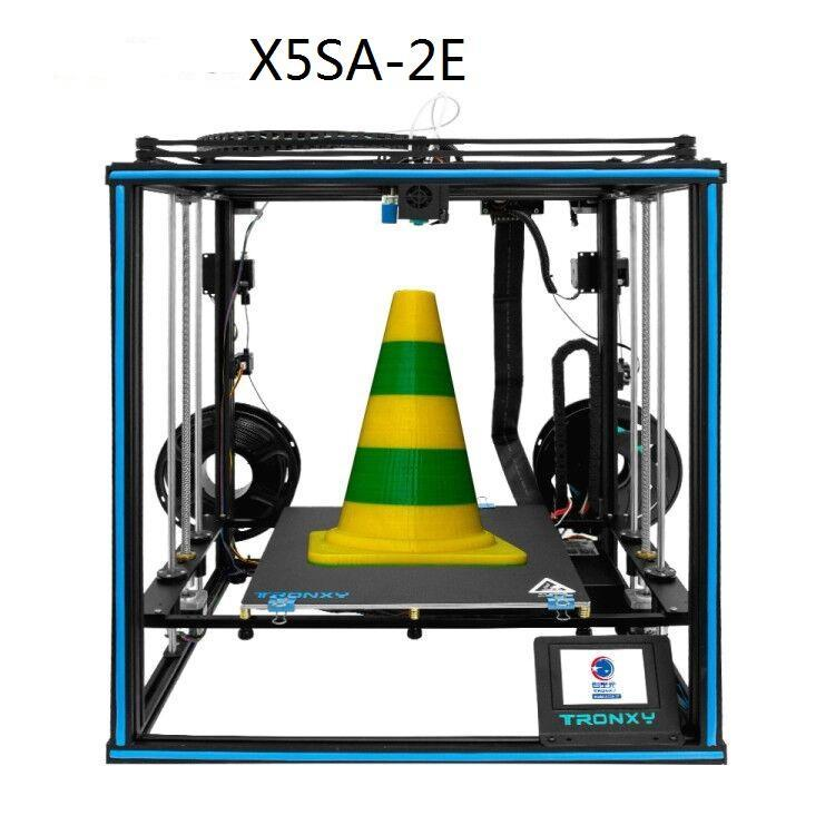 Large Build Plate Dual Color 330*330*400mm Full Metal Frame 3D Printer With Silent Motherboard Resume Power Failure X5SA-2E Printers