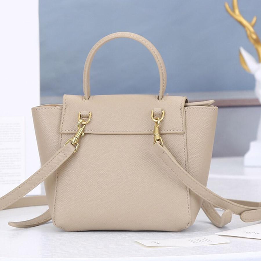 2021 تصميم الأزياء حقيبة الكتف الكلاسيكية أعلى جودة السلور حقيقية الخصر الصليب الجسم حقيبة يد للنساء مع مربع