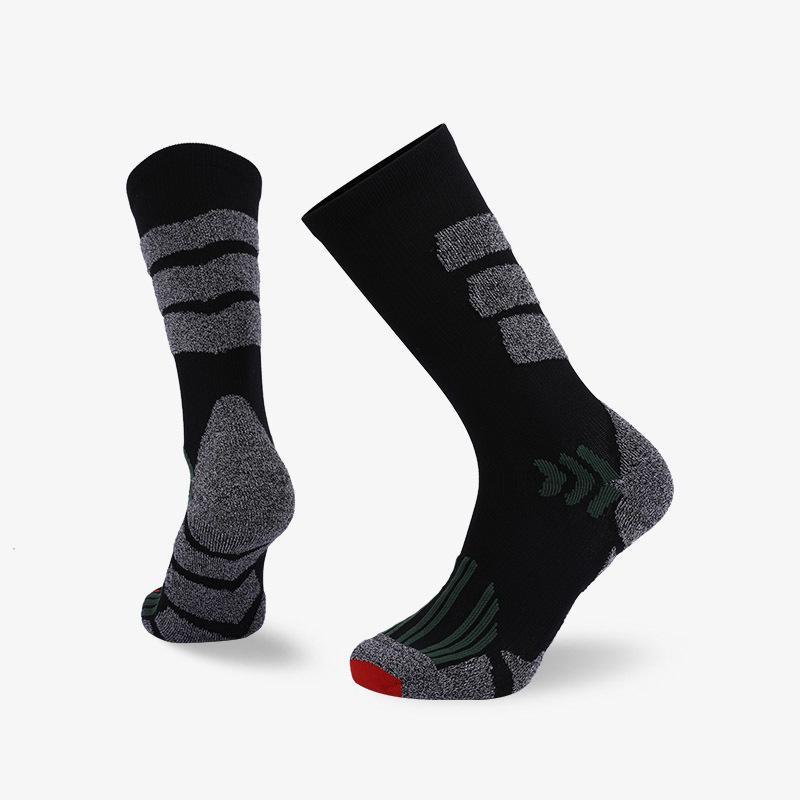 Benutzerdefinierte Unisex laufende dicke gepolstete Rolltop-Socken für Männer und Frauen
