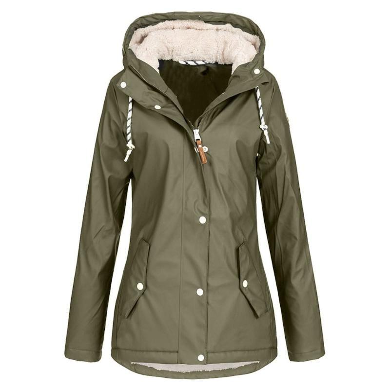 여성 비옷 겉옷 야외 스포츠 코트 캠핑 코트 Windproof Hoodie Jacket Veste Hiver Femme 남성 여성 윈드 브레이커 # 20 여성용 Kni