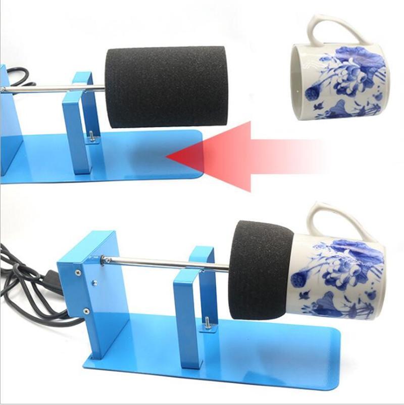 Turner Turner DIY Cuce de bricolage Alliage d'aluminium Alliage d'alliage d'alliage d'alliage d'alliage d'artisanat Tourneurs avec accessoires d'éponge