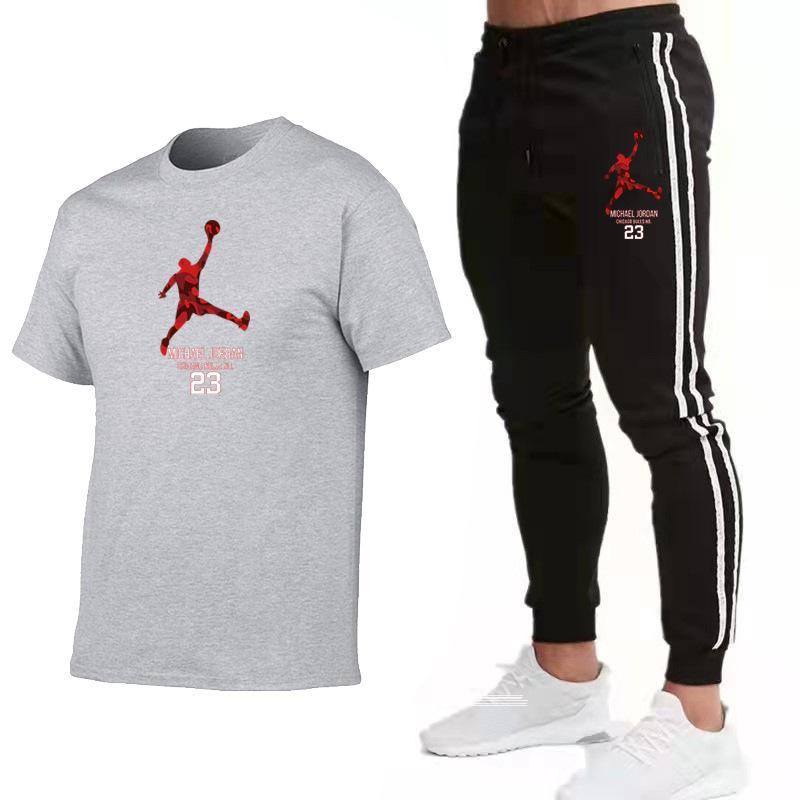 Pantalon de T-shirt Summer T-shirt Men