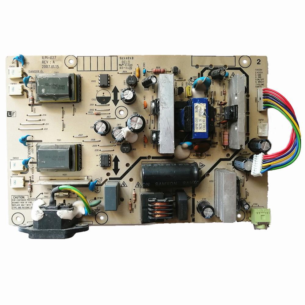 Probado Original LCD Monitor Power Supply TV Parts Unit 490481400600R ILPI-027 PARA HP W1907 L1908W