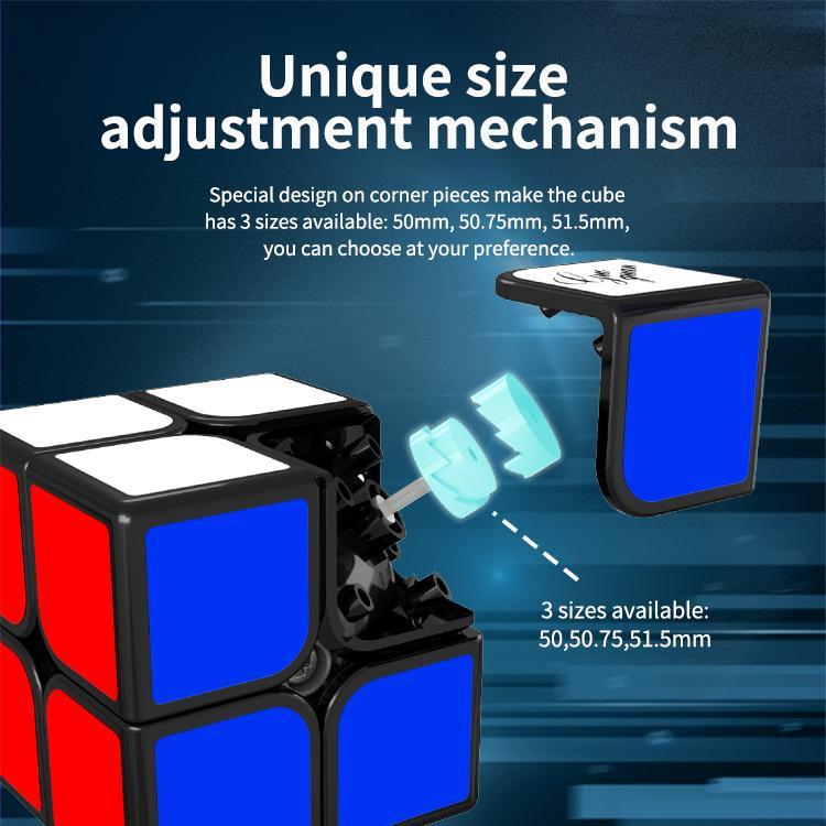 MOYU 마그네틱 큐브 GUOGUAN 2x2x2 XINGHEN TSM 자석 2x2 매직 퍼즐 WCA 전문 스피드 큐브 교육 장난감 게임 스티커