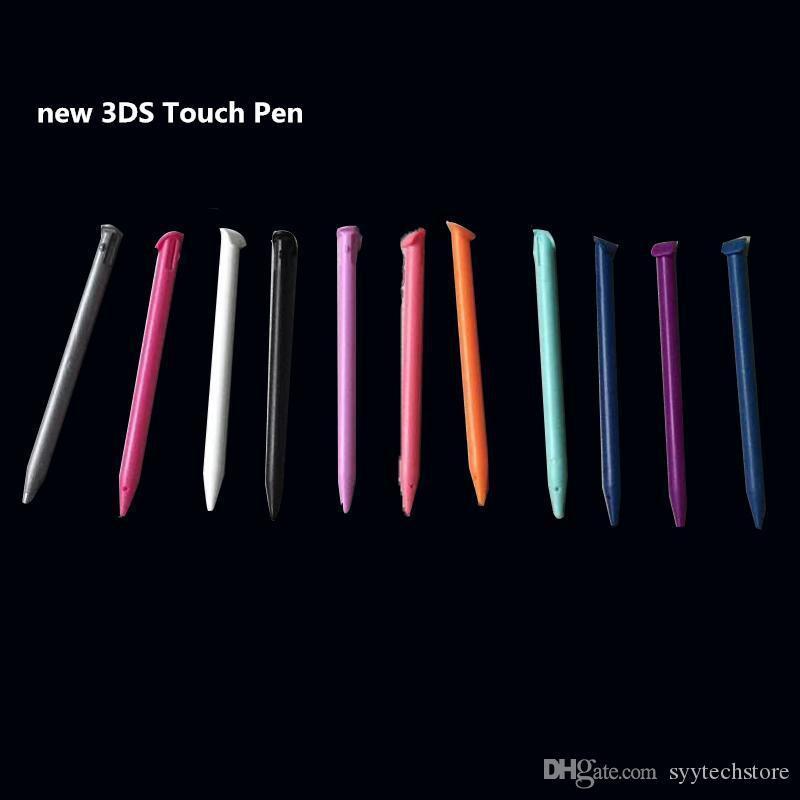 Syytech البلاستيك ستايلس شاشة تعمل باللمس القلم ل 3DS لعبة الملحقات البيضاء والوردي والأحمر والأرجواني والأسود والبرتقالي والرمادي والأخضر والخيار اللون الأزرق