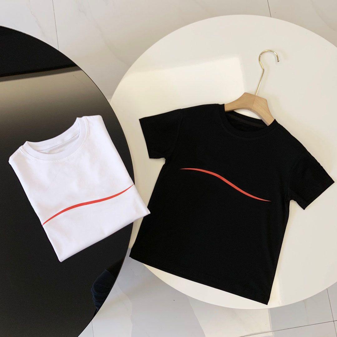 Çocuklar Aile Eşleştirme Kıyafetler Moda T Mens Bayan Yaz Mektubu Dalga Tees Ile Şarj Ebeveyn-Çocuk Giysileri Nefes T-Shirt Tops