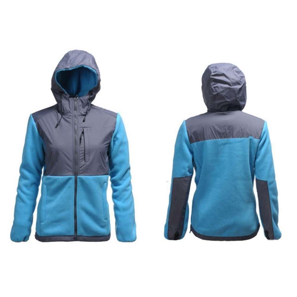 새로운 겨울 아래로 스키 양털 여자 양털 두건 재킷, 겨울 야외 스포츠 따뜻한 양털 스웨터 겉옷 남자 아이들 Softshell 자켓