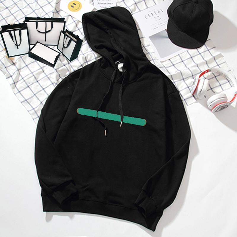 Модные толстовки для женщин Письмо Печатные Толстовки Дизайнер Мужчин Длинные Рукава Классический Пуловер Азиатский Размер M-2XL 7 Стили