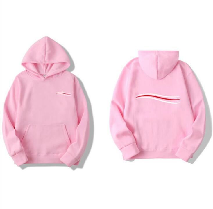 2021 мужские женские дизайнерские толстовки мода напечатанные пуловер зимний мужчина с длинным рукавом женщин с капюшоном одежда женская одежда розовые толстовки