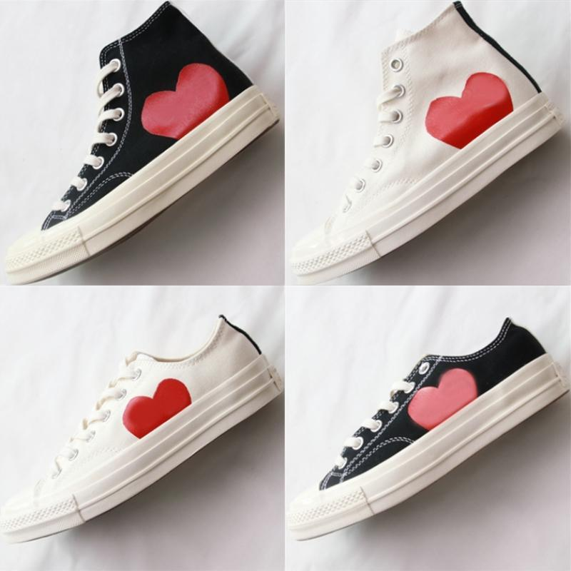 2021 Fashion High Top Sneakers Nero Red Big Eyes Scarpe Casual Donne Mens Trainer Classic Des Chaussures Designer Zapatos 36-44