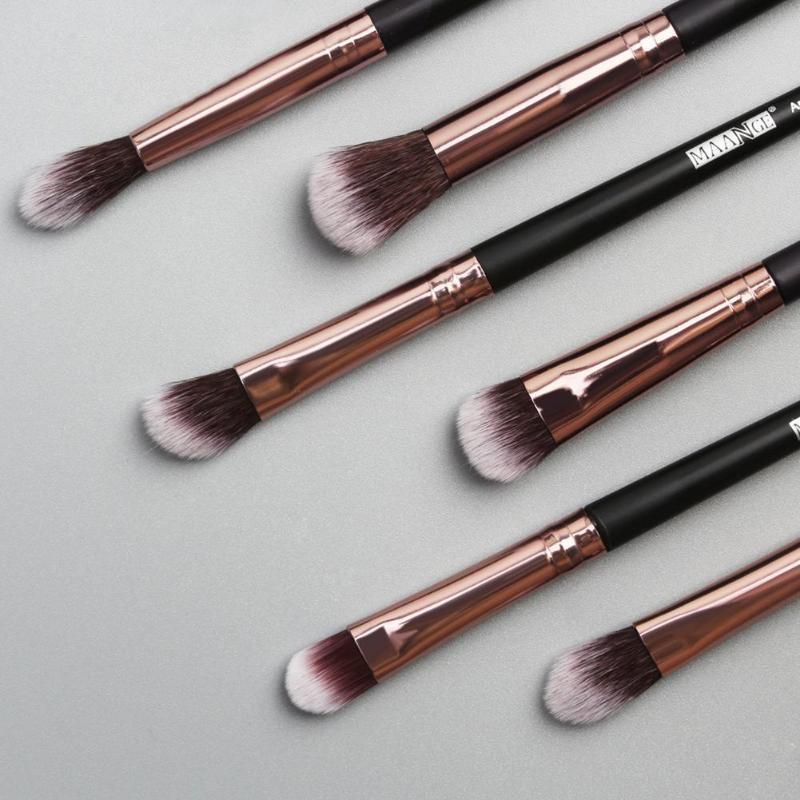 Makeup Brushes 12 Pcs Set Eye Shadow Blending Eyeliner Brush Kit Eyelash Tools Eyebrow Cosmestic Beauty Brushe F1A4