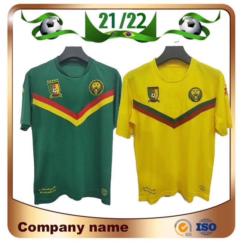 Acquista 21/22 Camerun Soccer Jersey 2021 Home Blue # 9 Etoo # 10 Aboubakar Shirt Toko Away National Team Football Uniform A 11,07 € Dal Lxx199198 | ...