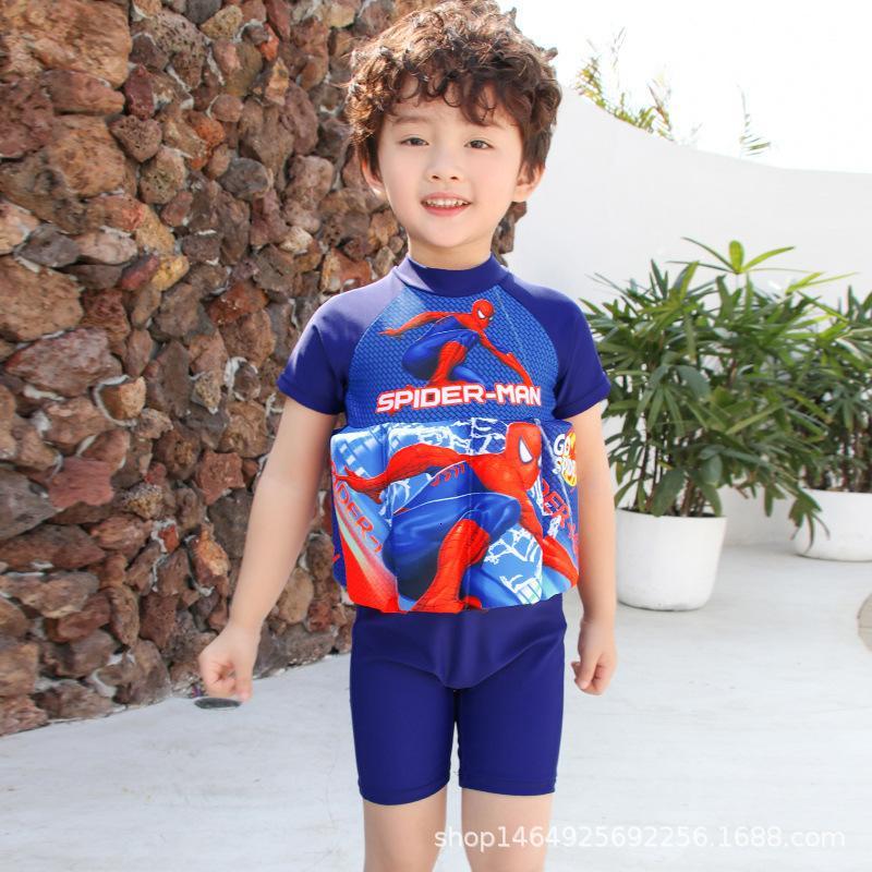 Bambino per bambini Costume da bagno Girl Baby Baby Swimsuit Boy Baby Piece Costume da bagno galleggiante
