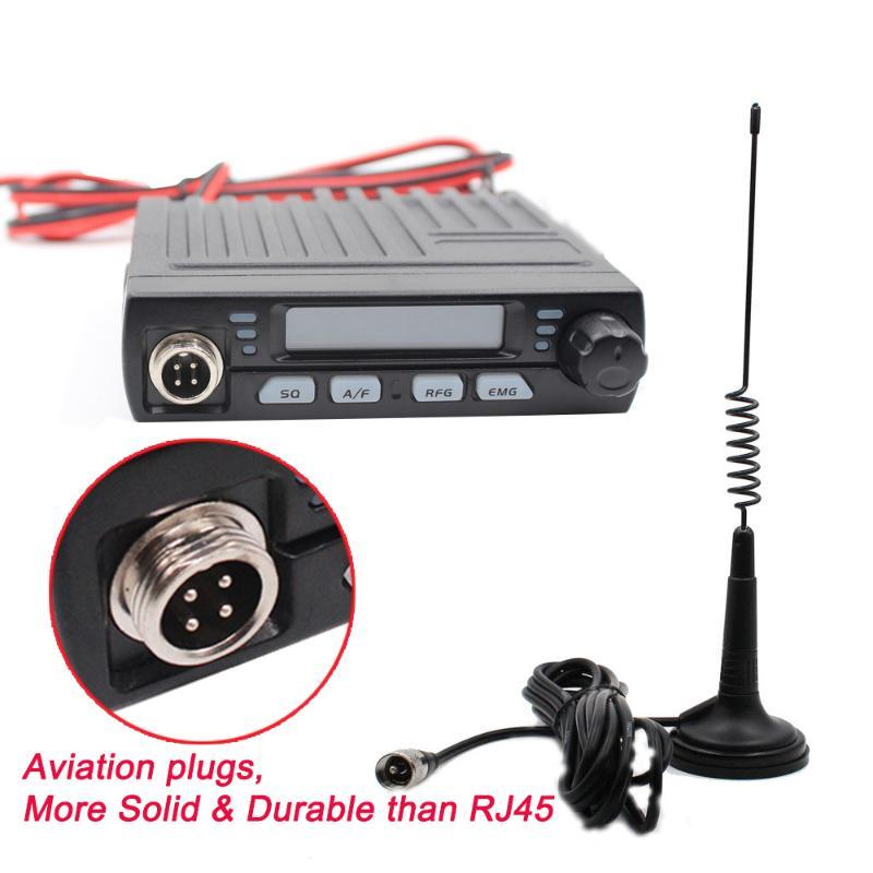 Walkie Talkie Ultra Compact Mini Mobile AE-6110 CB Radio For Europe 8W 26MHz 27MHz AR-925 Citizen Band 25/28/29/30MHz Shortwave 10 Meter