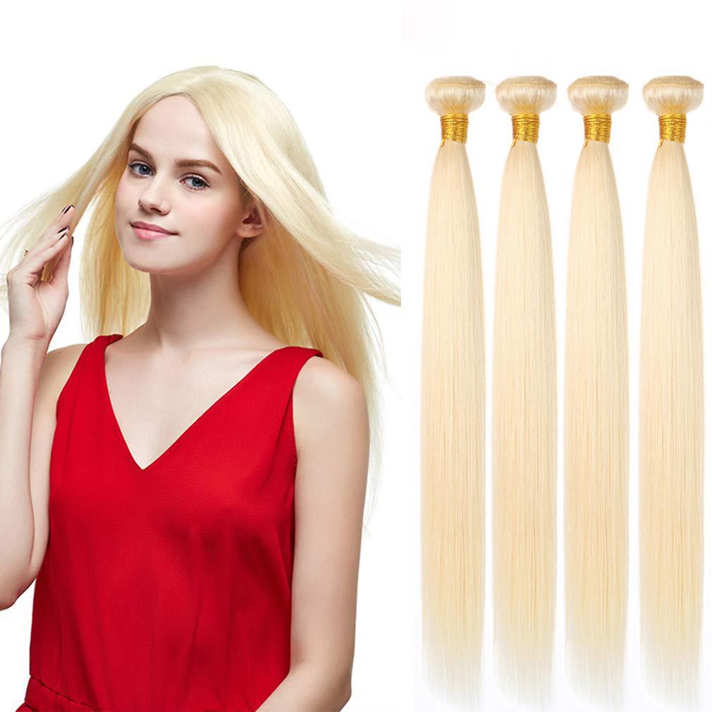 """4 demet 12-26 inç remy brezilyalı düz insan saçı dokuma uzantıları 200g """""""