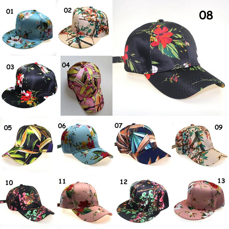 Pferdeschwanz Baseballmütze Unordentlich Bun Hüte Frau Sommer Sonnenblende Outdoor Blume Print Ins Snapack Für Mann