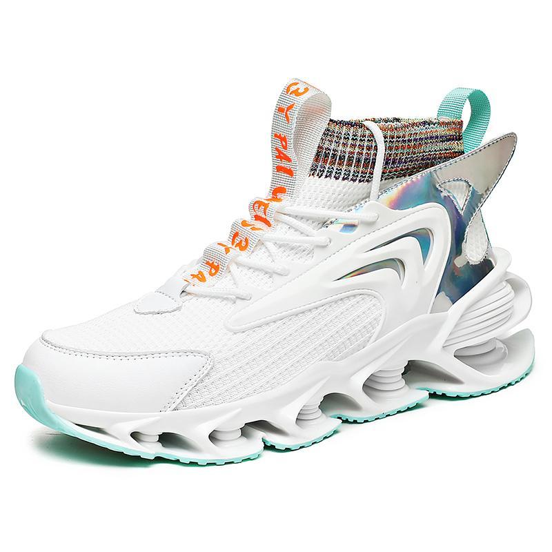 Zapatos para hombre zapatos de moda verano transpirable aumento de malla cuchilla delgada para hombre zapatos de primavera 2021 nuevas zapatillas de deporte