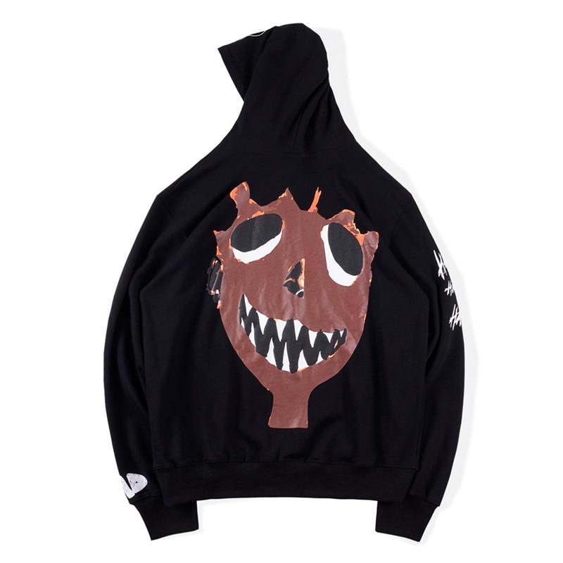Herren Hoodies Sweatshirts Herren Designer Bad XXX Vibes Forever Hoodie Hip Hop Graffiti High Street Mode Mit Kapuze Sweatshirt
