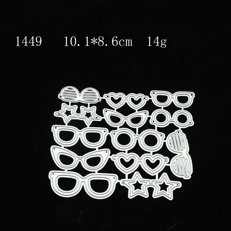 Painting Supplies 2021 Background Glasses Frame Lace Halloween Pumpkin Metal Cutting DIY Paper Cards Handbook Carving Stencil Crafts Postcar