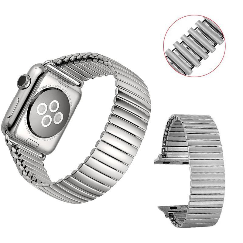 Solo Loop Brap для Apple Watch Band 40 мм 38 мм эластичная нержавеющая сталь металлический ремень браслет из нержавеющей стали серии 6 SE 5 4 3