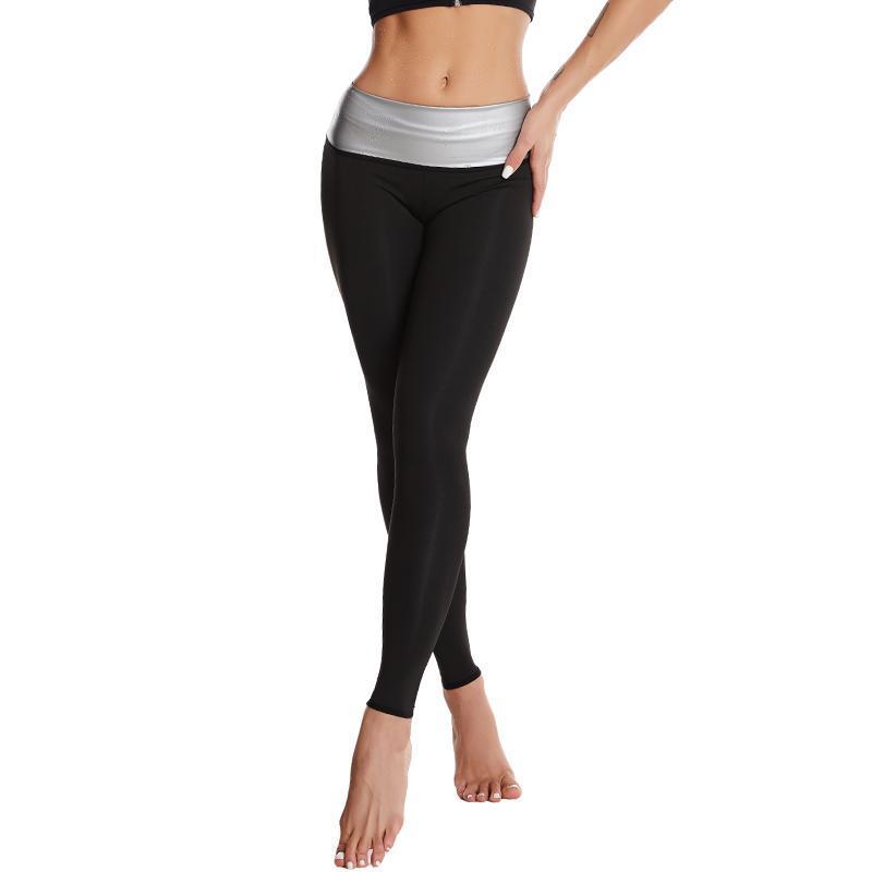 Leggings da donna sudore sauna donna senza soluzione di continuità Sport Push up fitness vita alta vita vestiti palestra allenamento pantaloni femminili