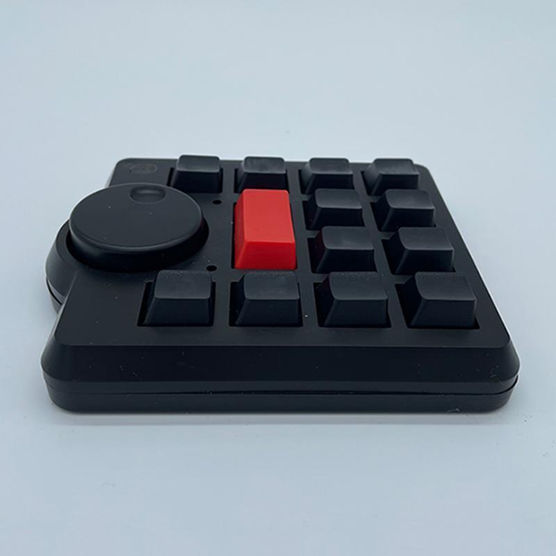 Klavyeler Spin Düğmesi Anahtar Klavye DA Vinci FCPX EDIUS AU PR MICRO USB MULTI FONKSİYONU Mekanik Windows MacOS