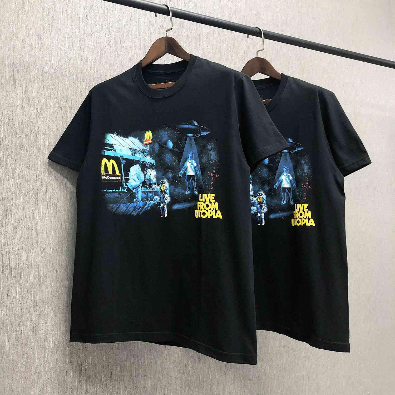 Американская известная высокомерная улица дизайнерские мужчины футболки TORTS TRAVIS SCOTT 100% хлопок негабаритная уличная одежда популярных футболок